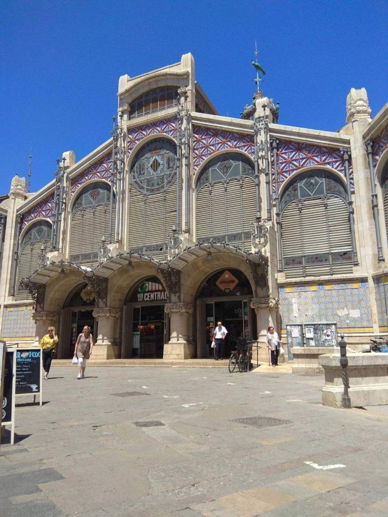中央市場 バレンシア